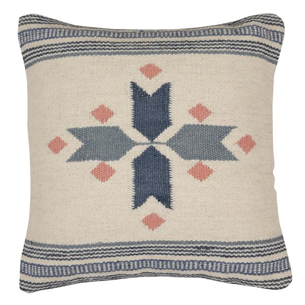 Star Cross Accent Cushion, Multi  - 18x18 Inch