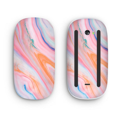 Magical Coral Marble Skin Decal Wrap Kit for Apple