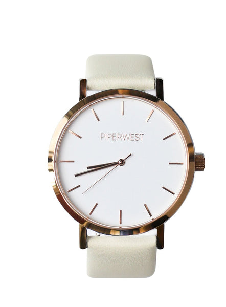Vegan Classic Minimalist in Rose Gold & Stone