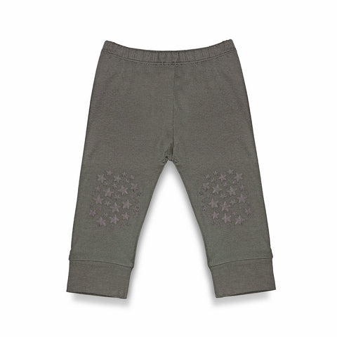 Charcoal Grey Grip N' Go Leggings - Bamboo
