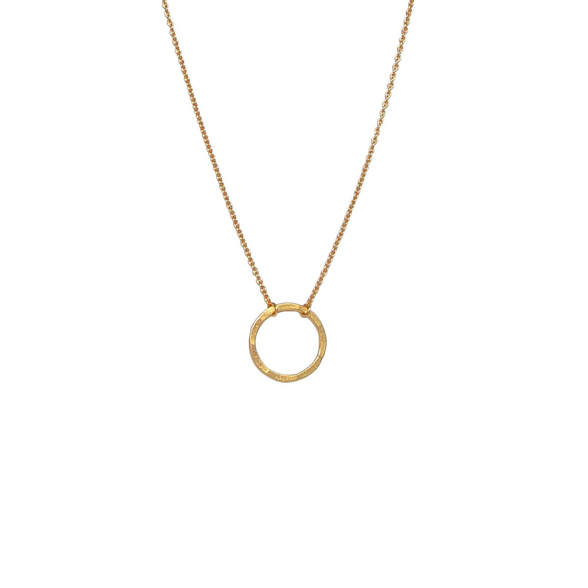 circle of life gold necklace