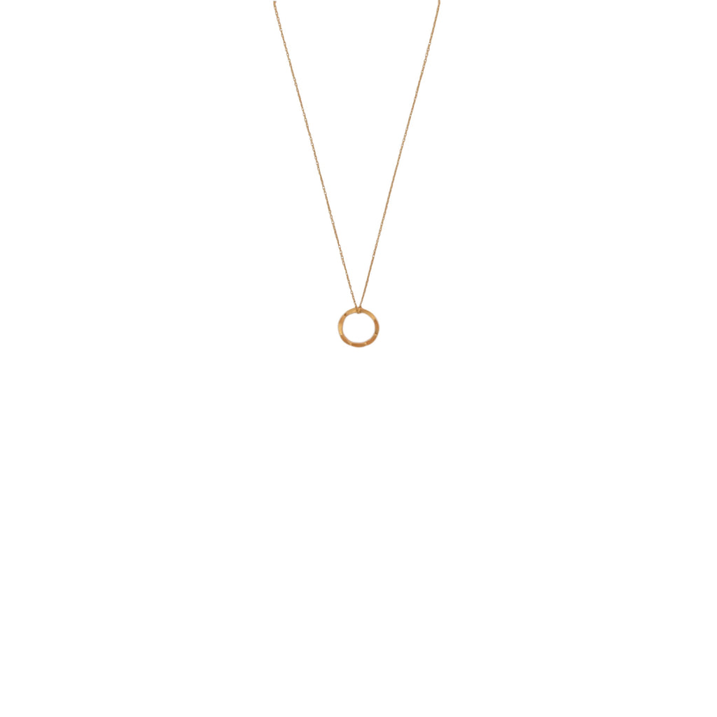 mini circle of life necklace