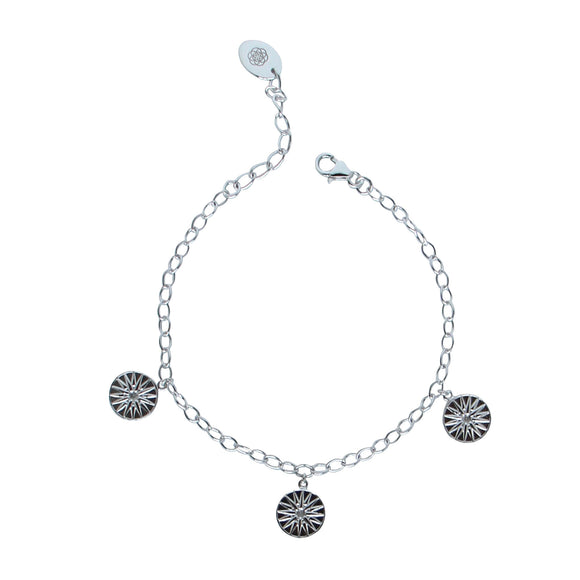 Guiding star bracelet silver by Karma Links Jewellery