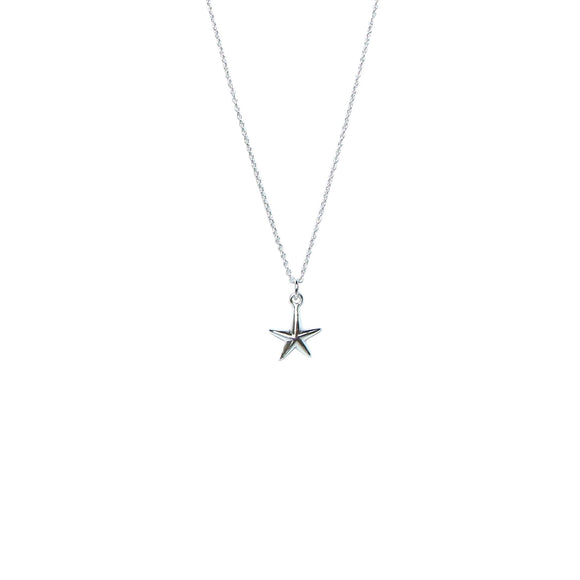 sterling silver starfish necklace Karma Links Jewellery