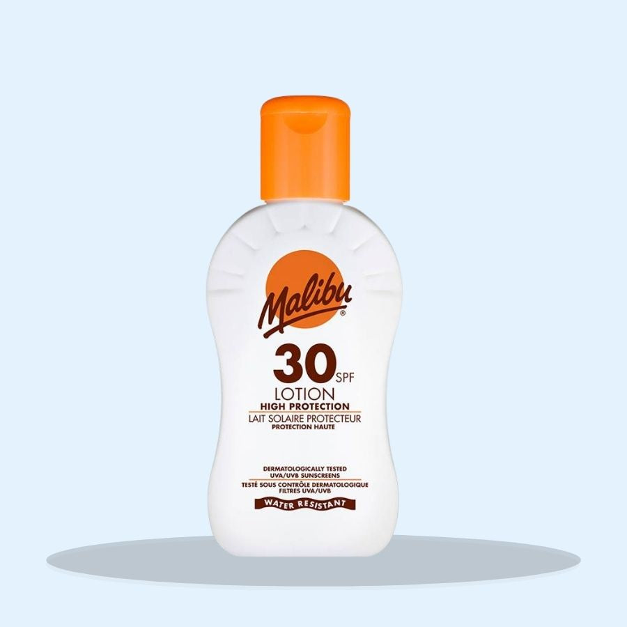 Malibu SPF30 Sun Lotion 100ml (Pack of 3 x 100ml)