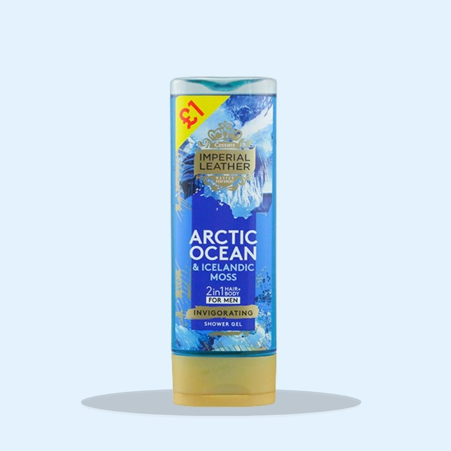 Imperial Leather Men's Arctic Ocean Shower Gel 250ml (PM £1.00) (Pack of 6 x 250ml)