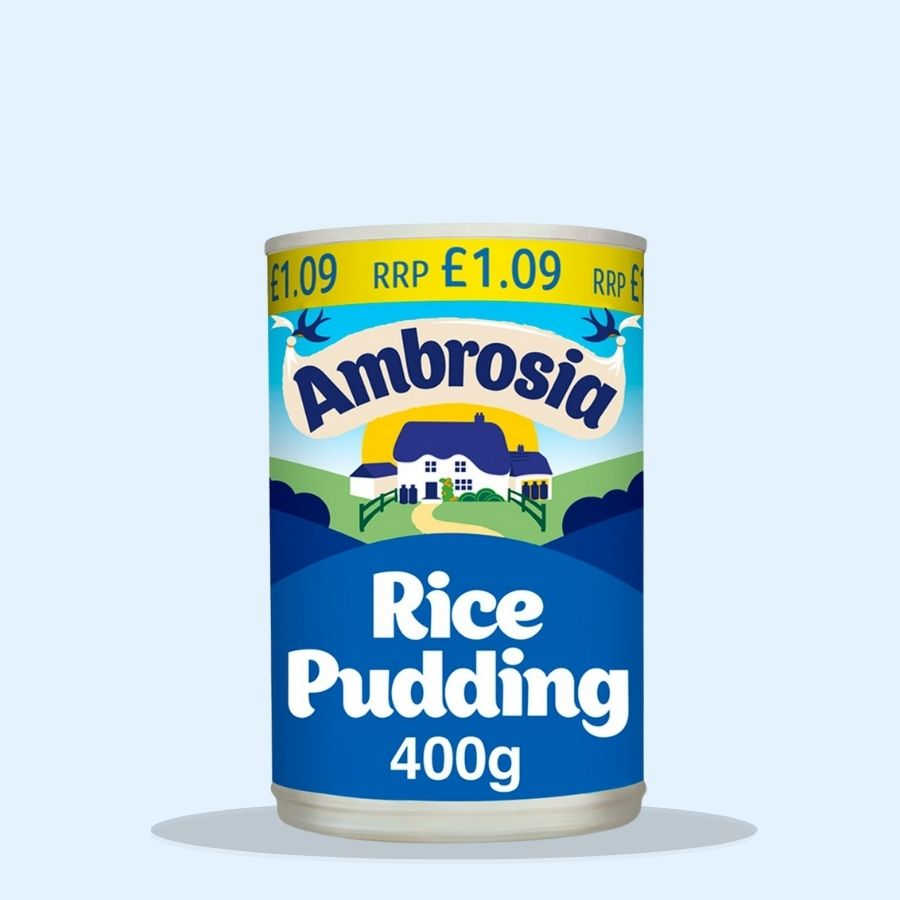Ambrosia Rice Pudding (Pack of 12 x 400g)