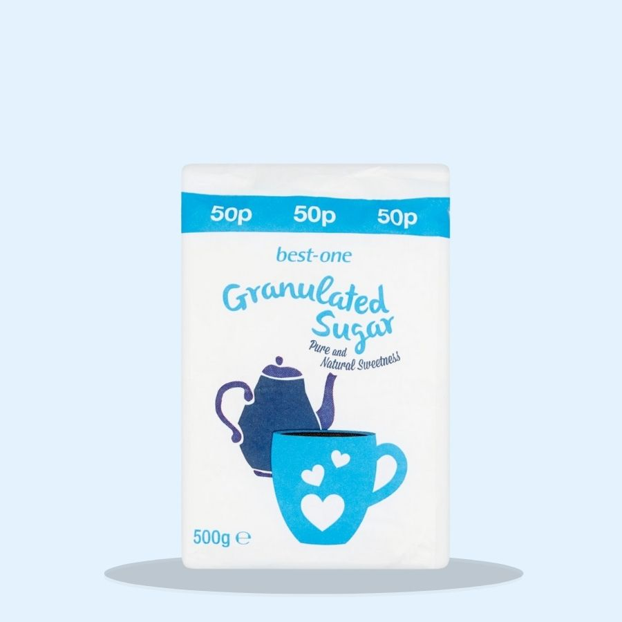 Best-One Granulated Sugar (Pack of 10 x 500g)