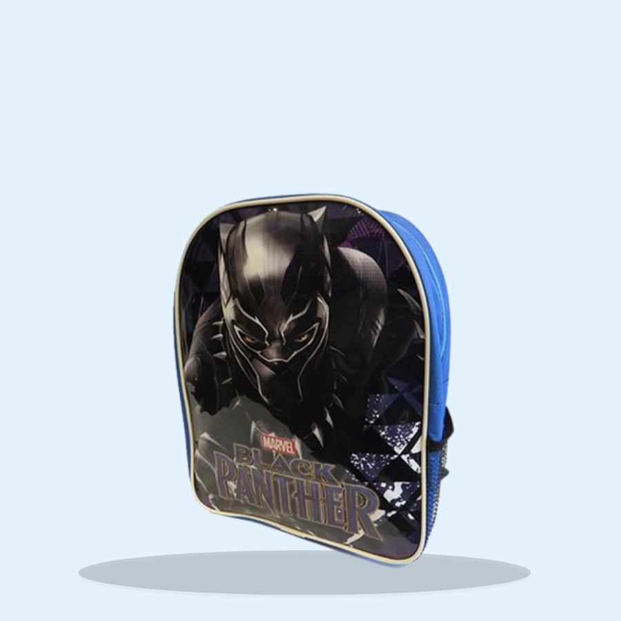 Official Black Panther Glossy Backpack (Pack of 1 x 1)