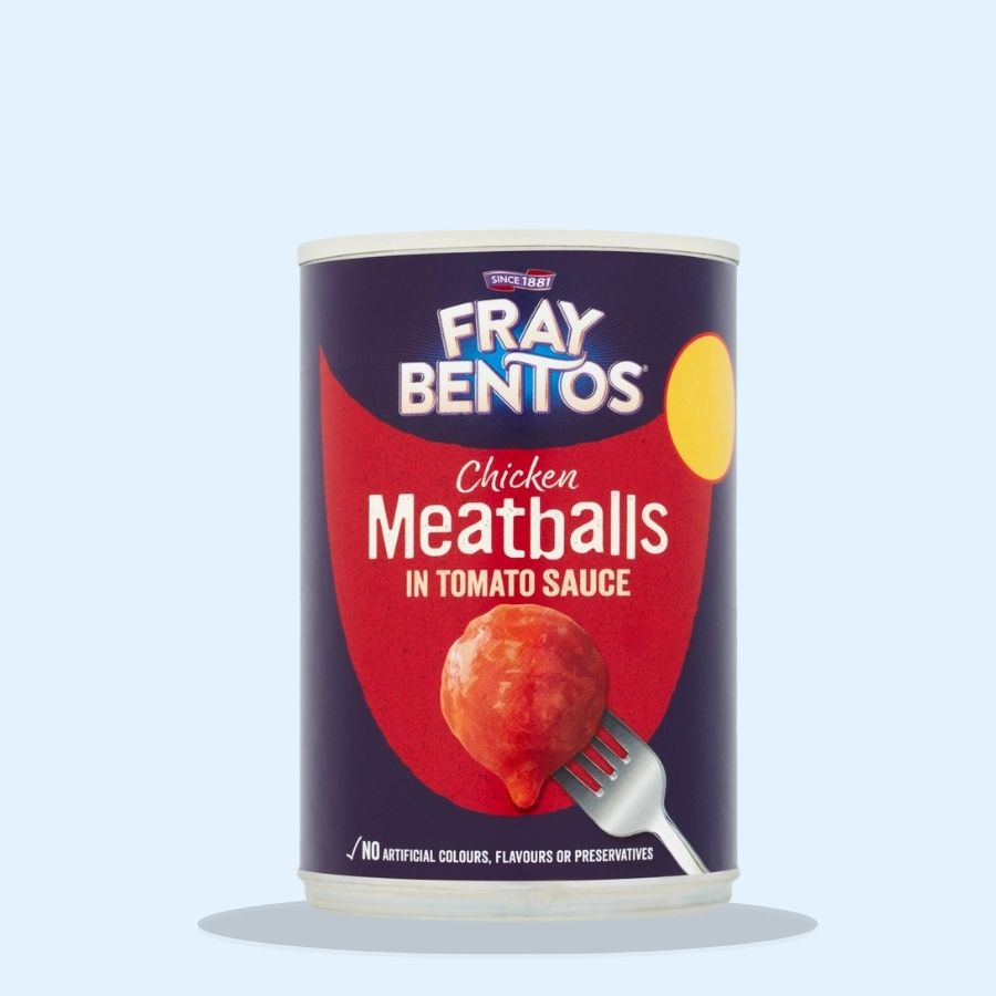 Fray Bentos Chicken Meatballs in Tomato Sauce (Pack of 6 x 380g)