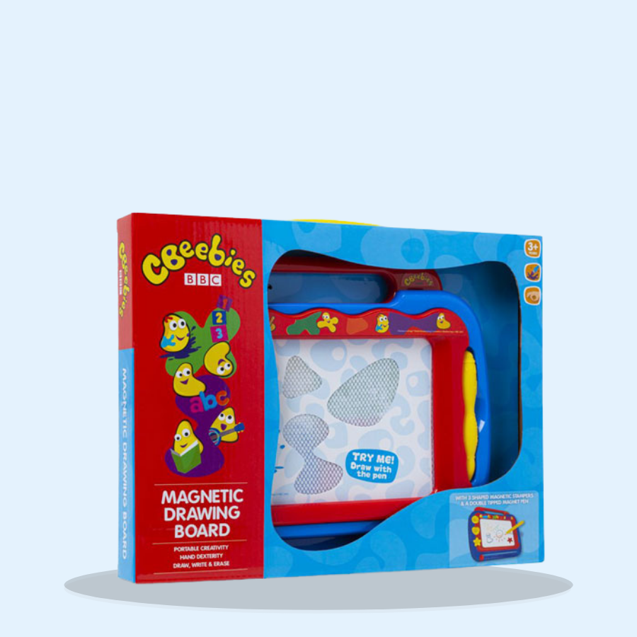 Cbeebies Magnetic Drawing Board (Pack of 1 x 1)
