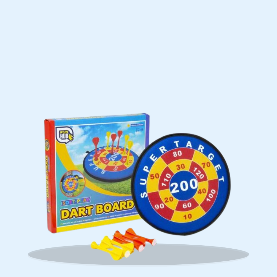 Soft Play Dart Board (Pack of 1 x 1)