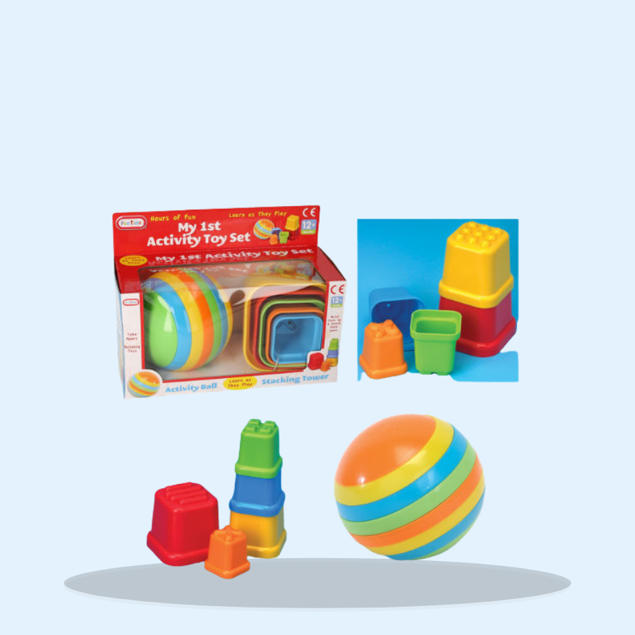 My 1st Activity Toys Set (Pack of 1 x 1)