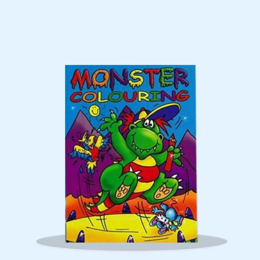Colouring Book For Kids Fun (Pack of 6 x 1)