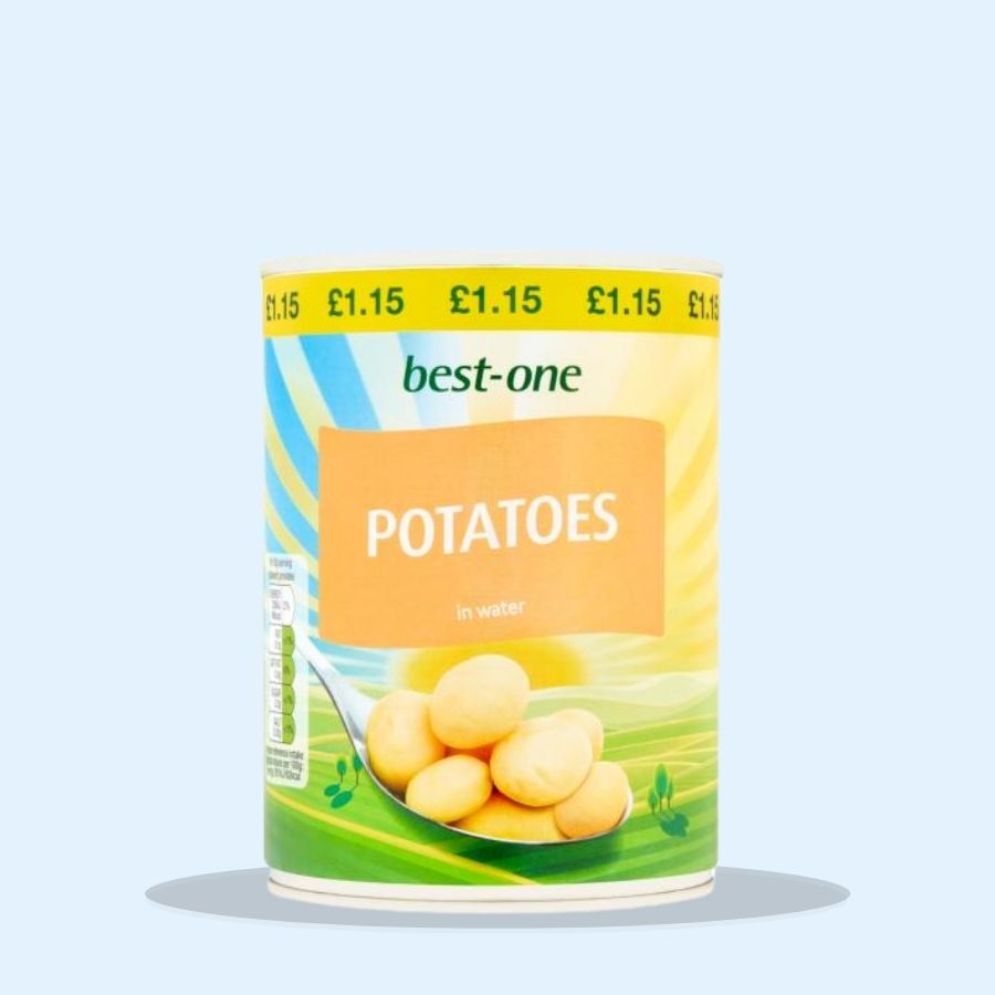 Best-One Potatoes in Water (Pack of 12 x 560g)