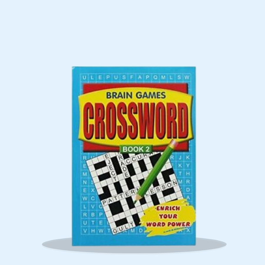 WF Graham Crossword Puzzles - Assorted (Pack of 12 x 1)