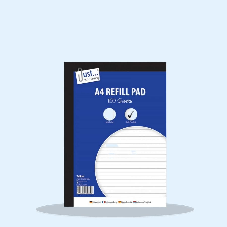 A4 Refill Pad 100 Sheets (Pack of 6 x 1)