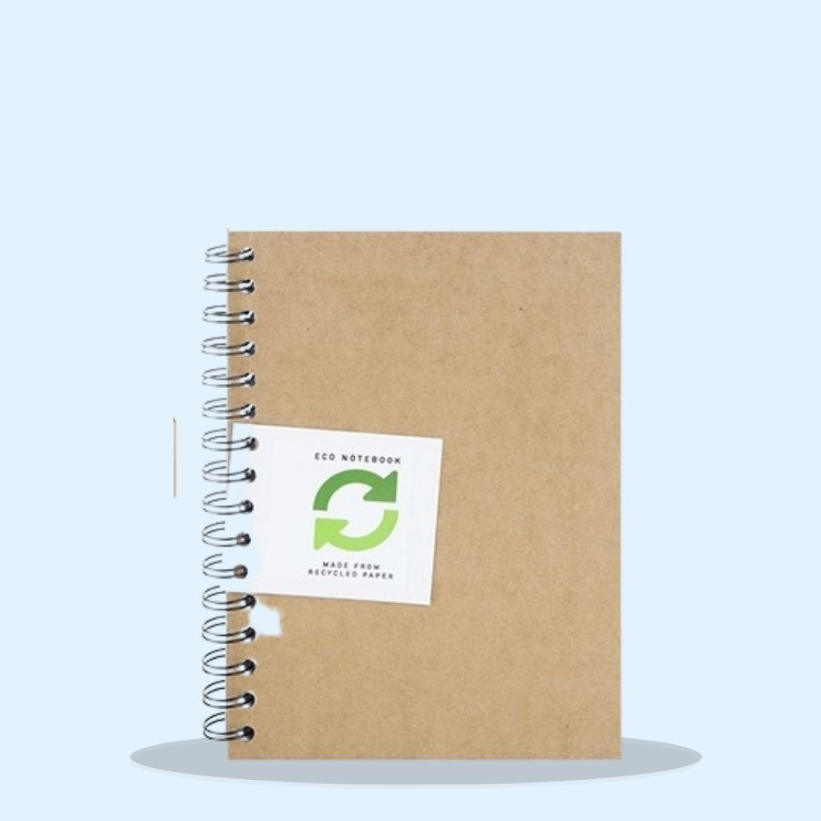 A5 Spiral Round Eco Notebook (Pack of 12 x 1)