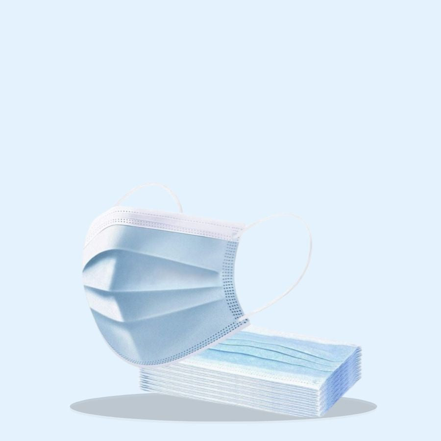 3 Ply Disposable Face Masks (Pack of 1 x 50's)
