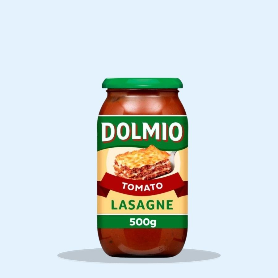 Dolmio Lasagne Red Tomato Sauce (Pack of 6 x 500g)