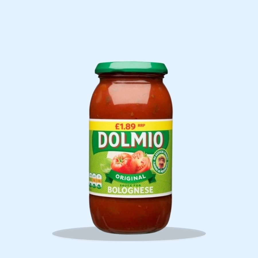 Dolmio Bolognese Pasta Sauce PMP £1.89 (Pack of 6 x 500g)