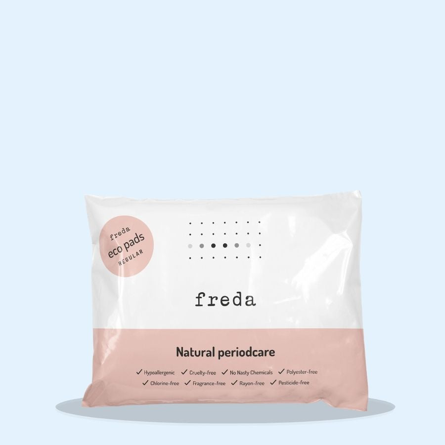 Freda Natural Day Pads Regular 40s (Pack of 1 x 40s)
