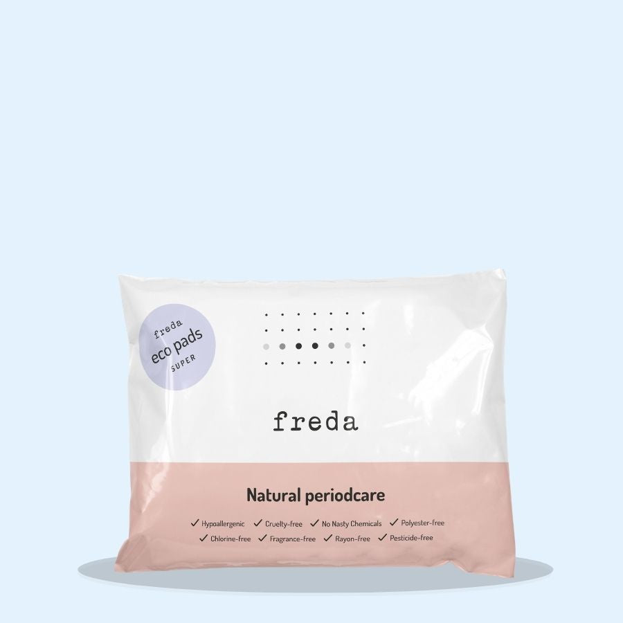 Freda Natural Day Pads Super 40s (Pack of 1 x 40s)