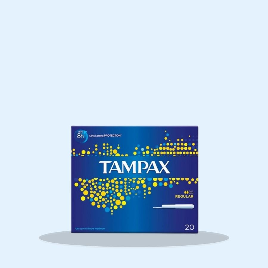 Tampax Regular 20s (Pack of 8 x 20s)