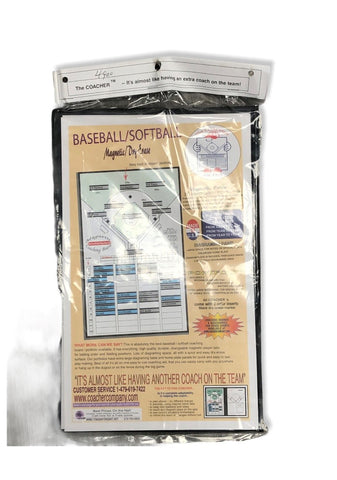 Athletic Specialties Coacher Magnetic Baseball Lineup Marker Boards