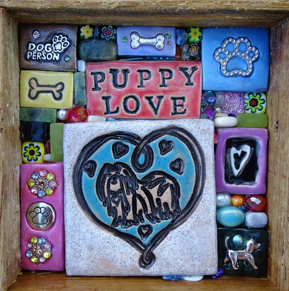 """Puppy Love"" Mini Mosaic"