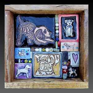 Dog Lover's Mini Mosaic