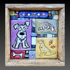 Purple Puppy Mini Mosaic