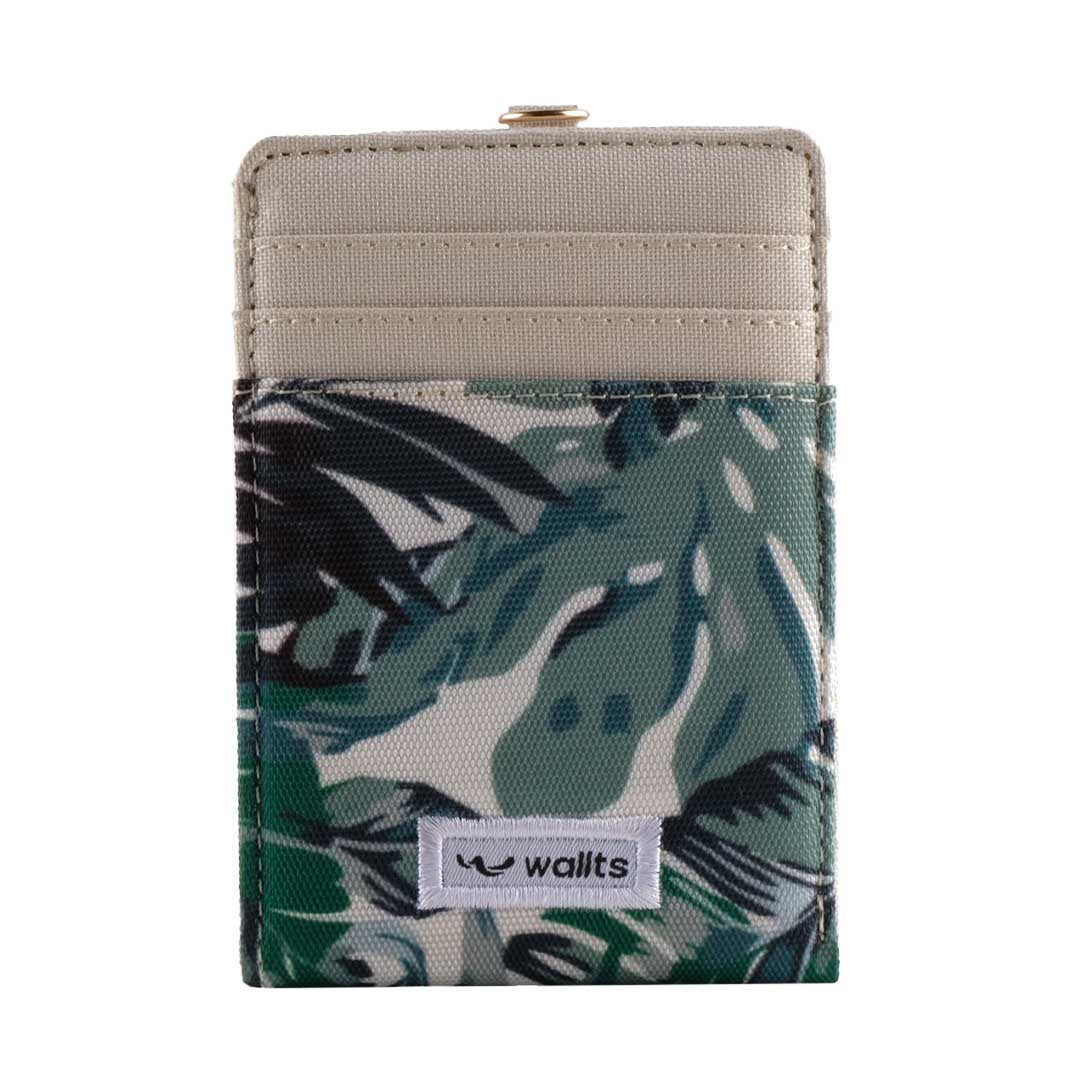 Helen ID Card Wallet Monstera