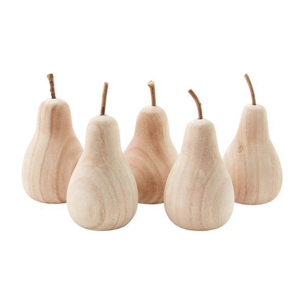 Small Wooden Pear