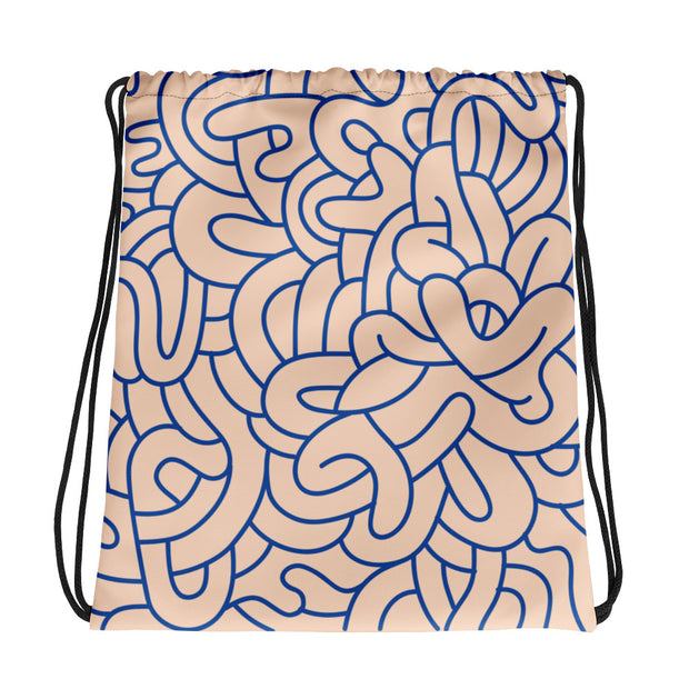 Graffiti Drawstring bag