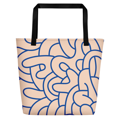 Graffiti Beach Bag