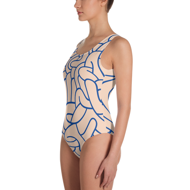 Graffiti One-Piece Swimsuit