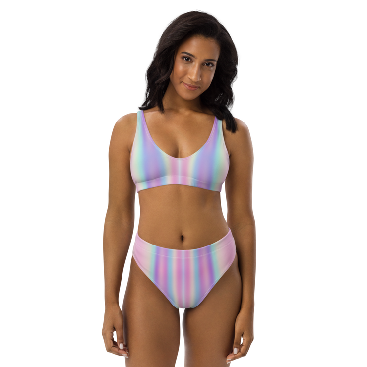 High Waisted Unicorn Bikini