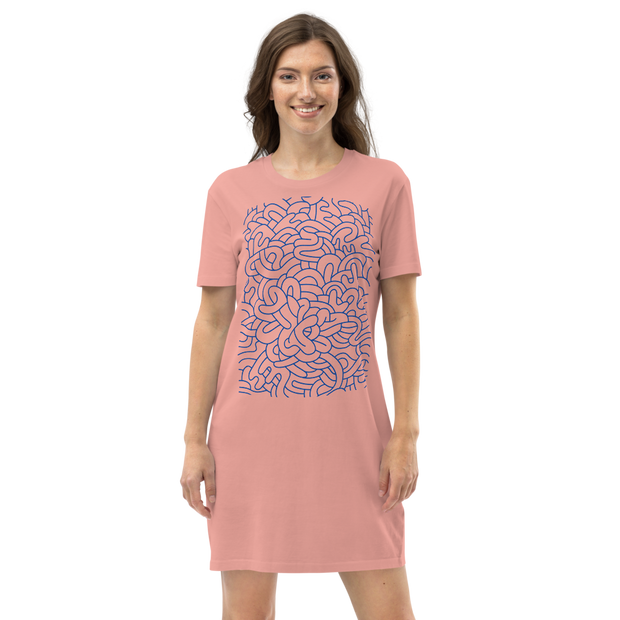 Graffiti T-Shirt Dress
