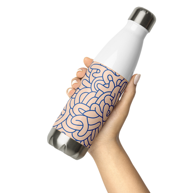 Graffiti Stainless Steel Water Bottle