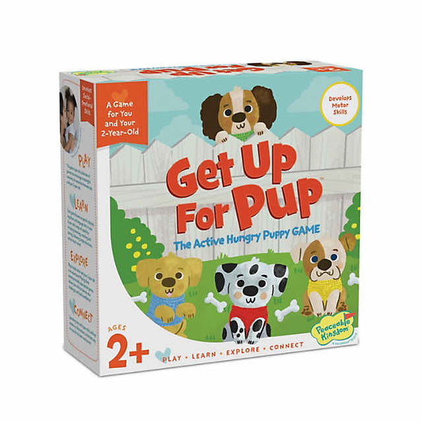 Get Up For Pup - The Active Hungry Puppy Game