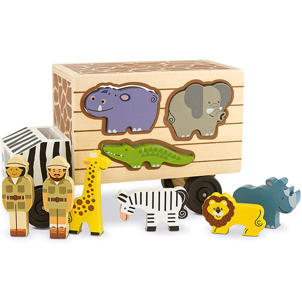 Melissa & Doug Safari Animal Rescue Truck