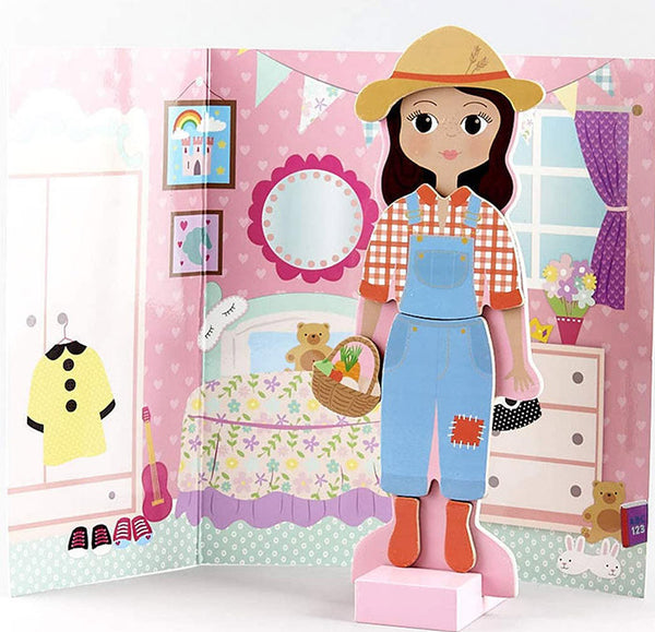 Magnetic Dress Up Character - Sofia