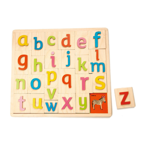 Alphabet Pictures Puzzle by Tender Leaf