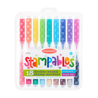 Stampable Scented Markers by Ooly