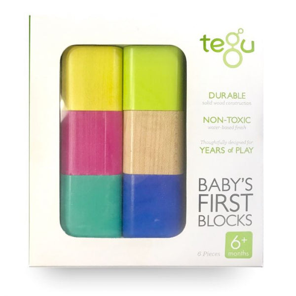 Tegu Baby's First Blocks