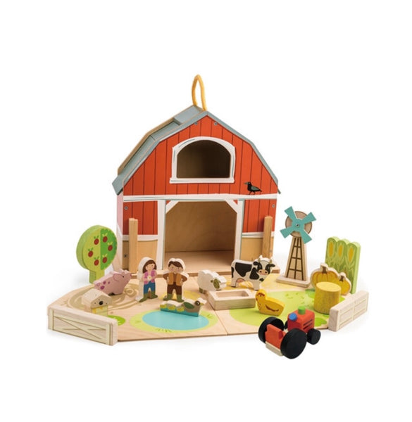Tender Leaf Barn Set