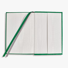 Load image into Gallery viewer, Small Belgravia Diary 2021 in Emerald Green Lizard
