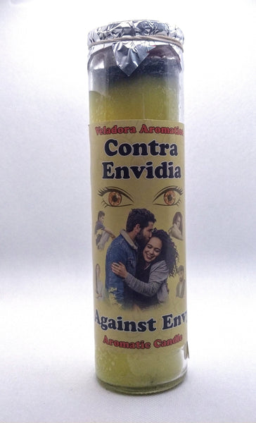 Against Envy  ( Contra Envidia )    Prepared Candle