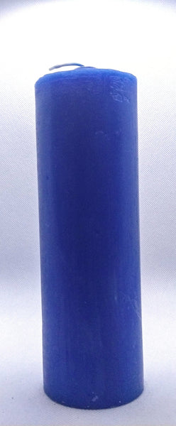 Pull Out  Blue ( Azul ) Candle